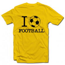 "T-krekls ""I love Football"""