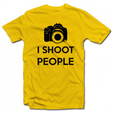 "T-krekls ""I shoot people"""
