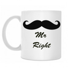 "Krūze ""Mr Right"""