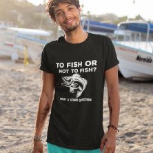 """T-krekls """"To fish or not to fish"""""""