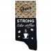 "Zeķes ""Strong like coffee"""