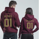 "Džemperu komplekts ""KING & QUEEN"""